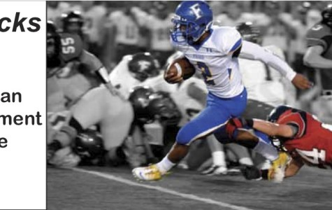 Football faces district rival