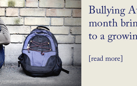 Bullying month prompts awareness