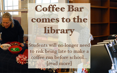Coffee bar comes to campus