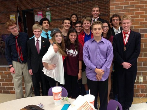 Debate earns points for state