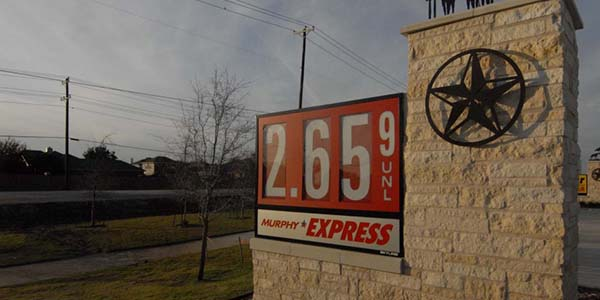 Lower gas prices mean savings to students and staff