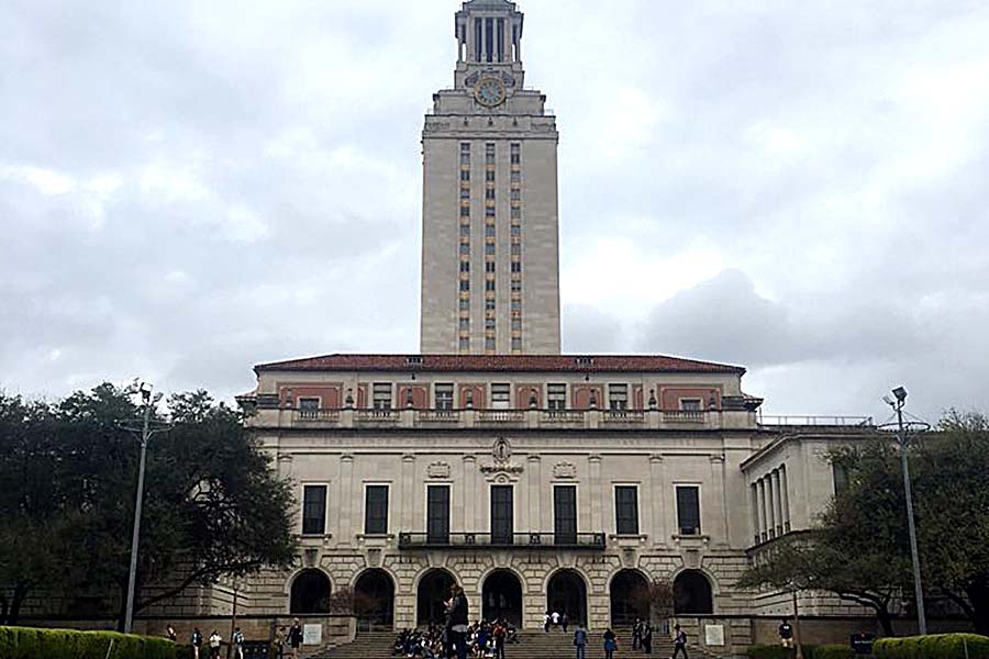 The University of Texas's clock tower was the site of the 1966 shooting rampage by Charles Whitman, killing 14 people.