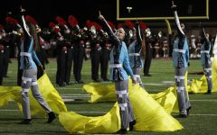 Color guard adds 'visual attribute' to marching band