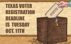Voting registration nearing Oct. 11 deadline