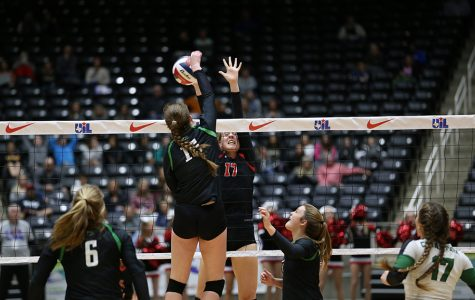 Slideshow: Volleyball state semifinal vs. Cedar Park
