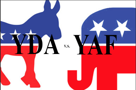 Campus houses opposite ends of political spectrum