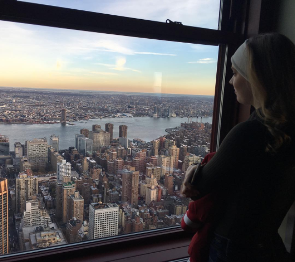 Junior Lauren Willmann visited New York City to dance in the 90th annual Macy's Thanksgiving Day Parade.