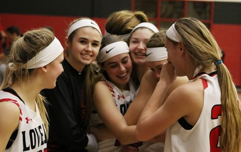 Photo gallery: Senior night for playoff-bound girls basketball