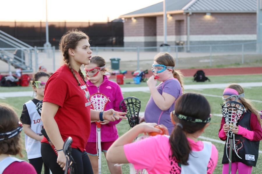 Student-athlete, Kennedy Miller, started the district's first women's lacrosse program for Kindergarten through eighth grade.