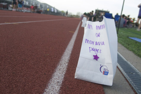 As part of the school's Relay for Life event, luminarias are being sold in the commons in support and memory of cancer patients and survivors.