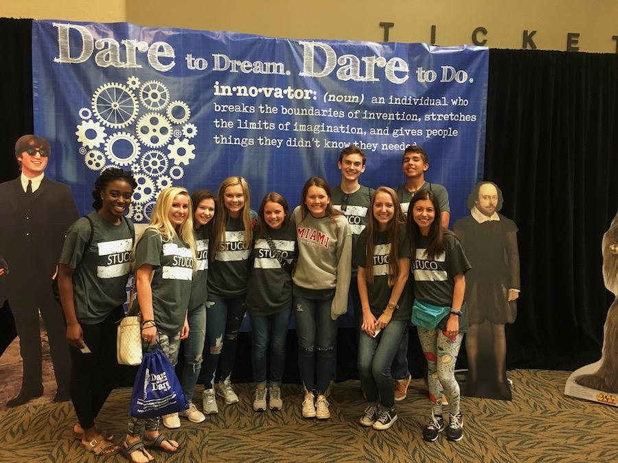 17 student council members attended the TASC convention today.