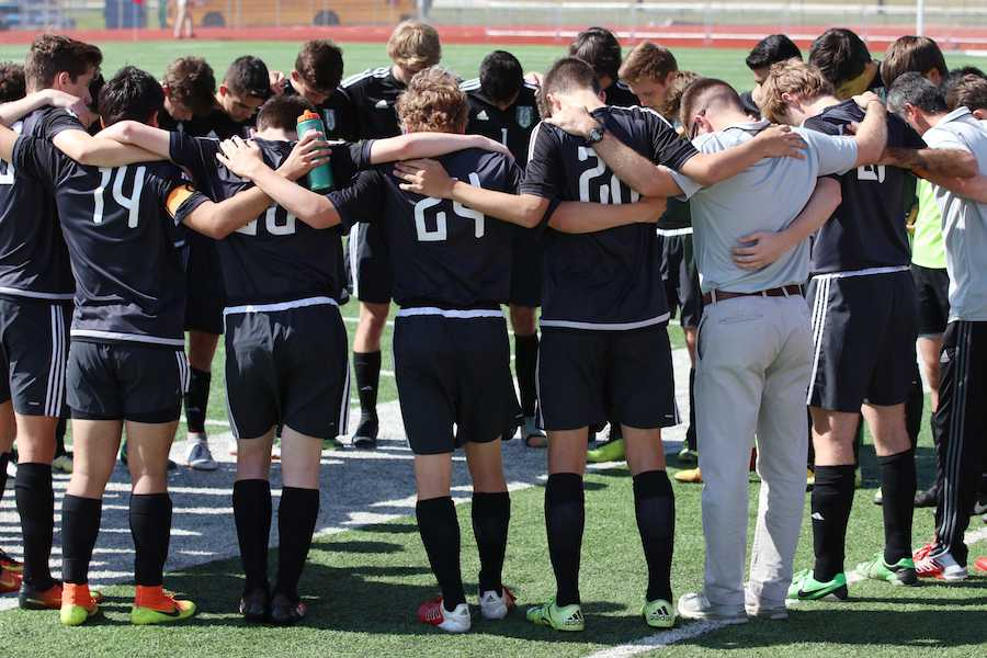 The boy's soccer team played their last game of the year in the regional semifinals versus Midlothian.