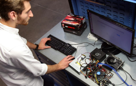 Students designing alternative to popular gaming consoles
