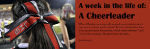 A week in the life of: A cheerleader