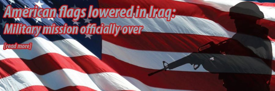 American withdrawal from Iraq official