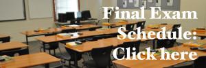 Final Exam Schedule 2011-2012