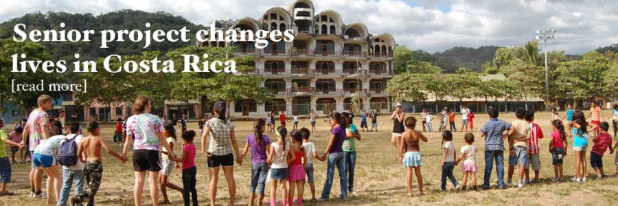 Senior project changes lives in Costa Rica