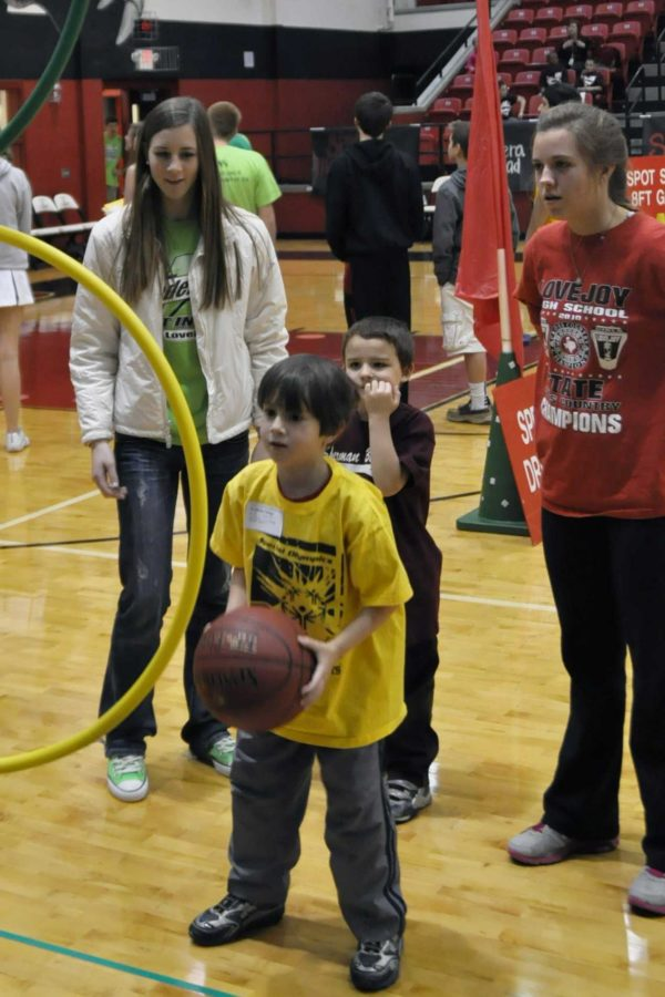 Students compete in a multitude of different sports throughout the Special Olympics season.