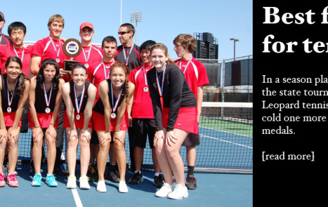 Best finish ever for tennis at state