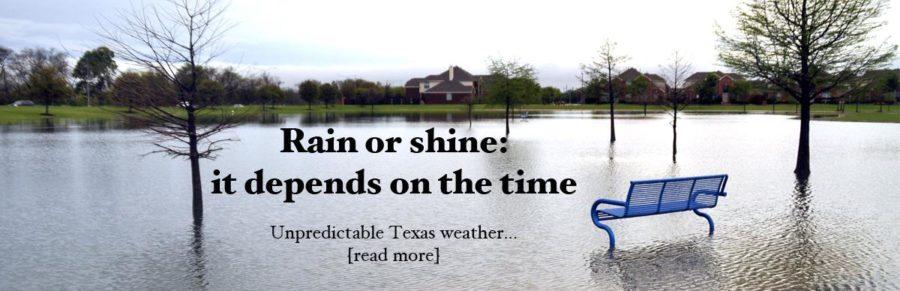 Unpredictable Texas weather