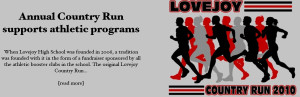 Annual Country Run supports athletic programs