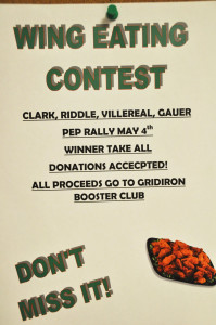 All you can eat pep rally