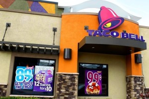 No silencing Taco Bell