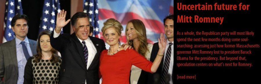 Uncertain future for Mitt Romney