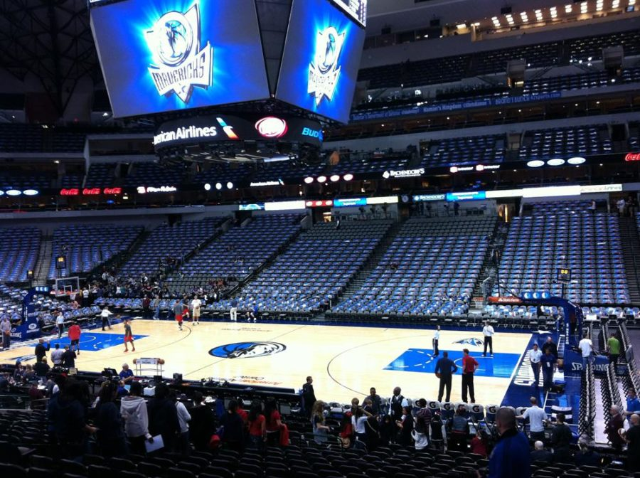 Student council leadership workshop with Dallas Mavs
