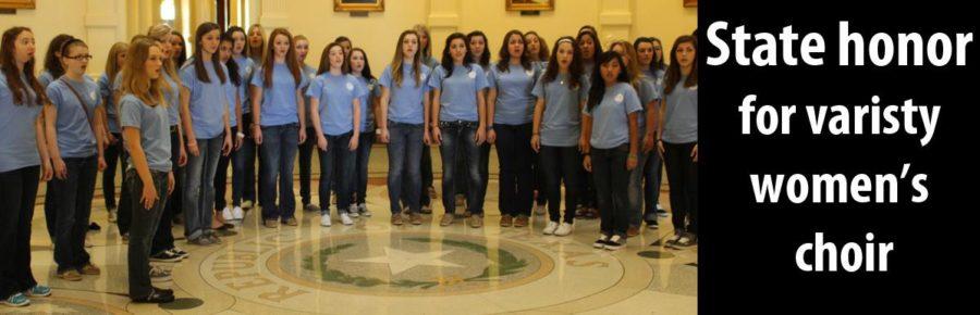 State honor for varsity women's choir