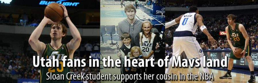 Sloan Creek student supports her cousin in the NBA