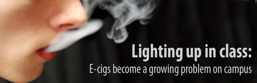 Nicotine or not, e-cigarettes not allowed on campus
