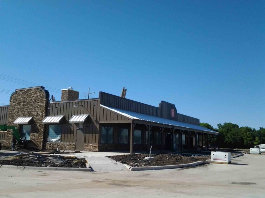 Still under construction, the new Cracker Barrel in Allen is expected to open in July.