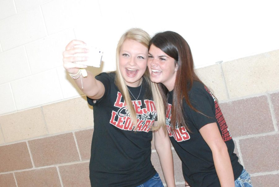 Students all over campus are taking countless selfies.