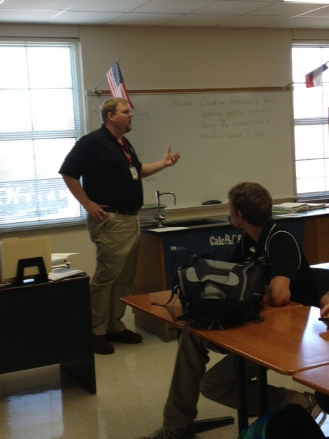 After a year of doing research at the University of Louisiana at Lafayette, chemistry teacher Jason Taylor is back in the classroom.
