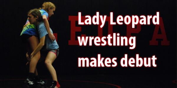 Lady Leopards wrestling makes its debut