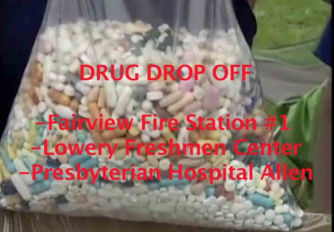 Extra or expired prescription drugs can be dropped off this weekend, preventing harm to the environment.
