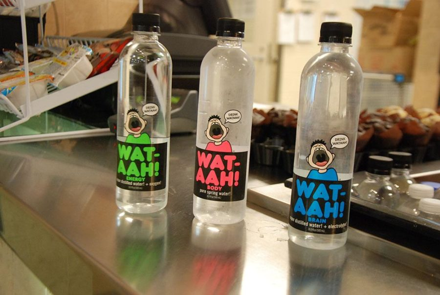 The+new+Wat-aah+water+bottles+were+made+to+prevent+obesity+and+to+promote+a+healthy+lifestyle.