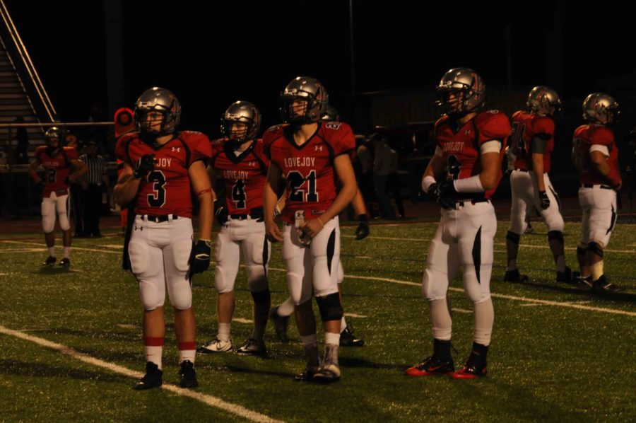 The varsity football team needs to beat Wylie East in order to move on to playoffs.
