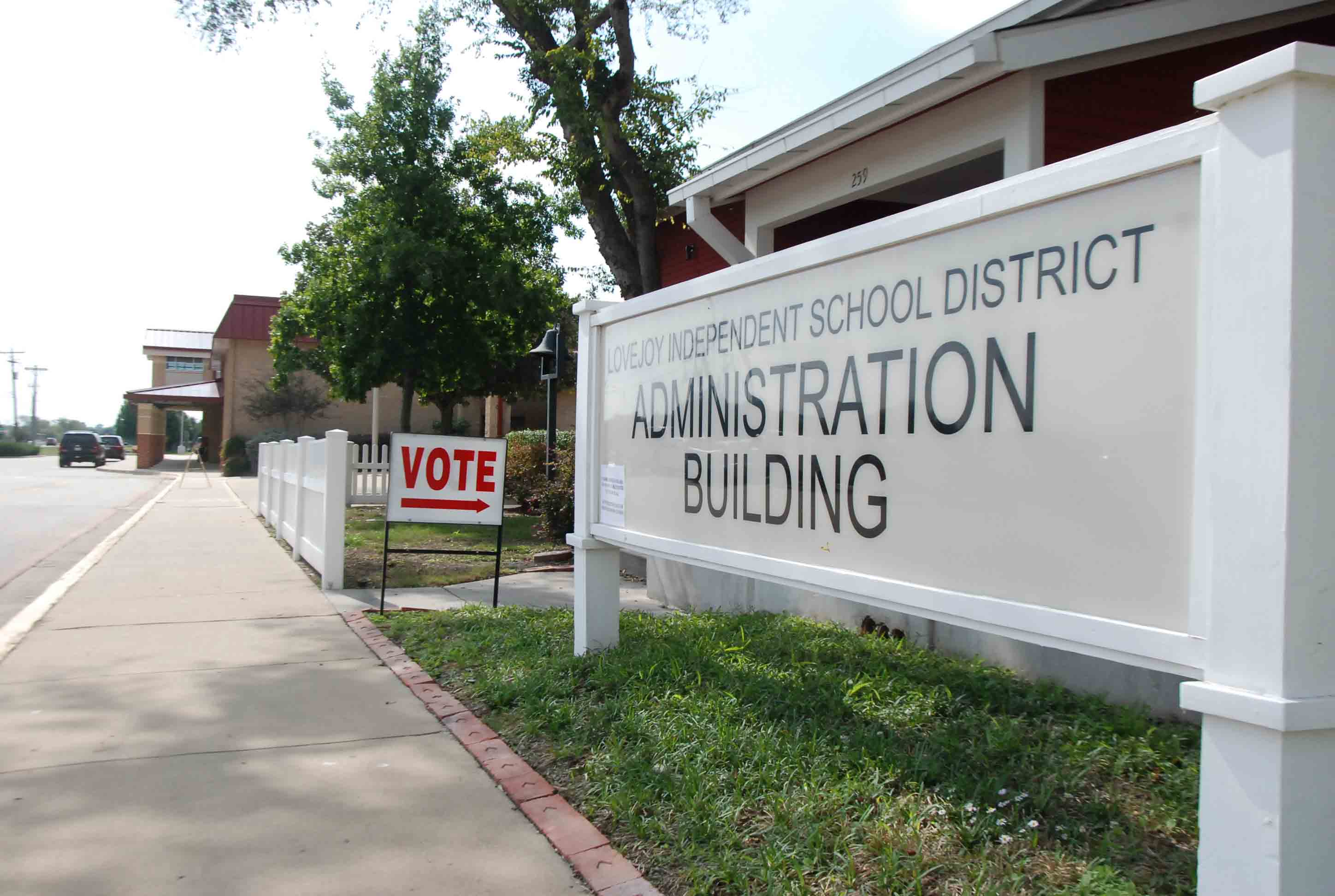 Early voting ends today for the LISD Bond Election.  The polls are open today in the Administration Building   until 7:00 p.m. On Election Day, the polls are open from 7:00 a.m. to 7:00 p.m. in the gymnasium at Lovejoy Elementary School.