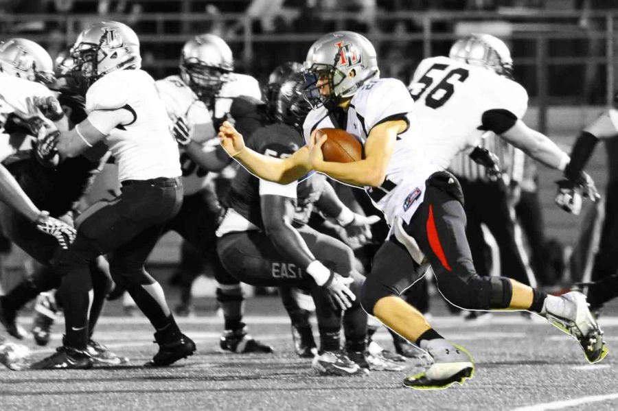 Dakota+Michaels+was+5+for+10+against+Hallsville.+He+passed+for+133+yards+and+1+touchdown.+