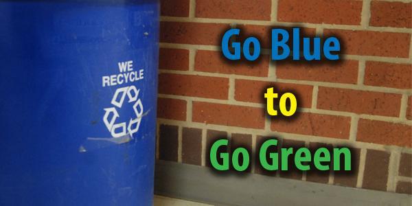Go Blue to Go Green