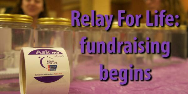 Feet are being sold in the commons for the next few weeks to raise funds for Relay for Life.