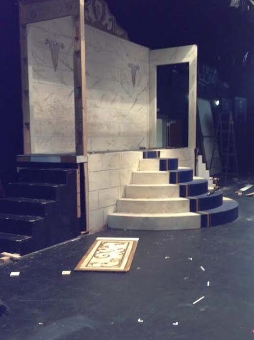 The+cast+and+crew+of+Annie+will+be+working+for+the+next+few+days+on+clean+up.
