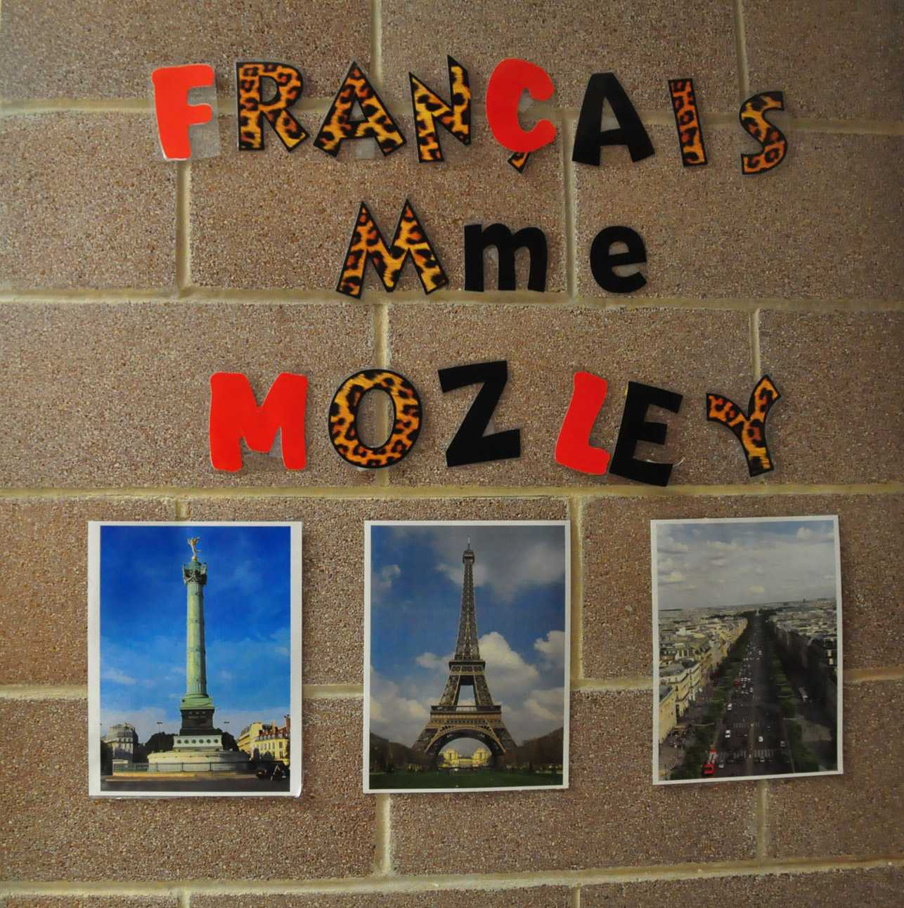 French students will have the opportunity to travel to France over spring break or the summer.
