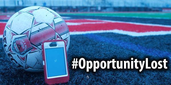 #OpportunityLost