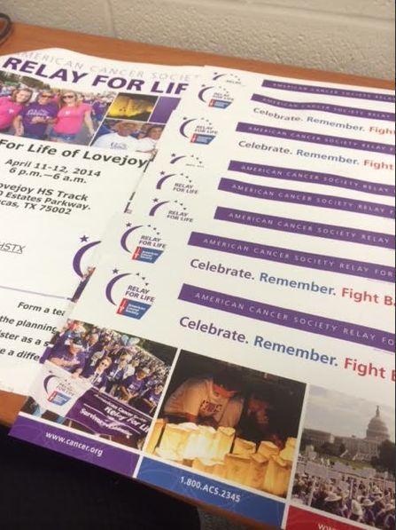 NHS members were required to sign up for Relay for Life