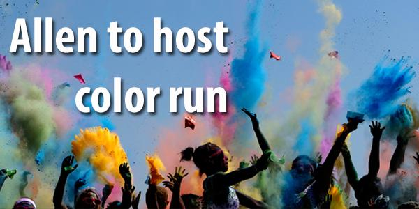 Allen to host color run