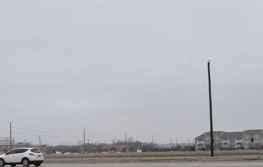 The construction of a new HEB will cover a local field.