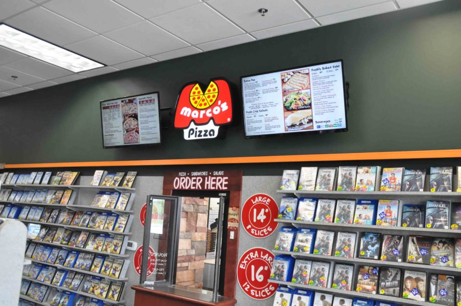 Family Video customers now have the option of also getting pizza, seeing that theyve joined forces and offer both services.